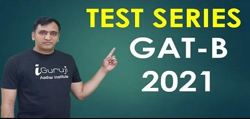 Online TEST SERIES FOR GAT-B 2021